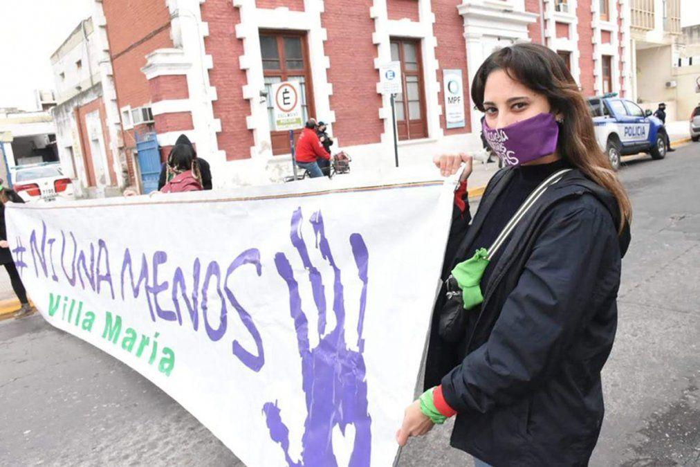 La foto que no pudo ser. (Imagen de la marcha del 3 de junio de 2020).