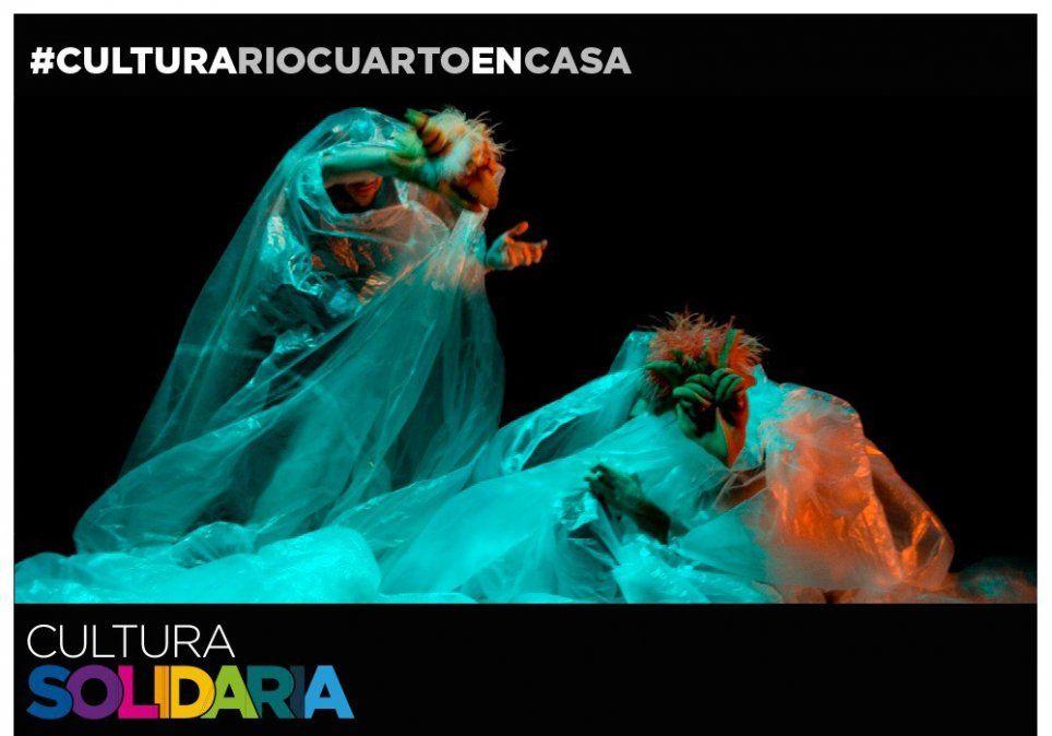 Teatro de Objetos y Títeres en Cultura Solidaria.