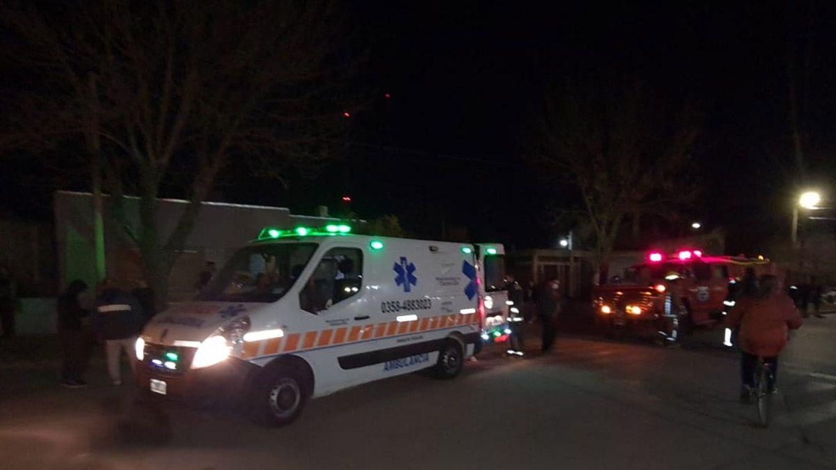 El accidente sucedió en la localidad de Carnerillo.