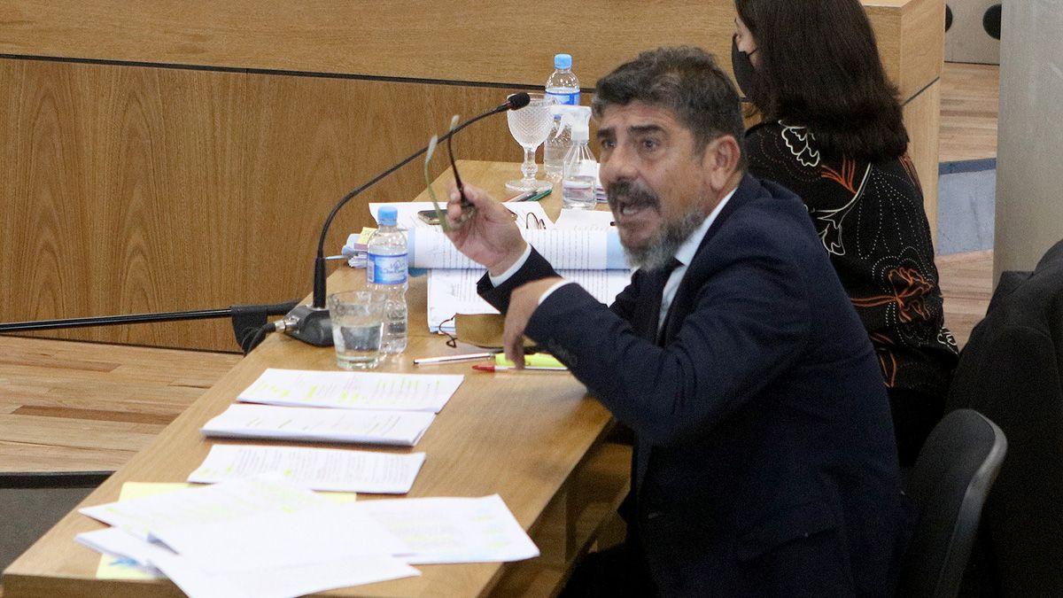 La Fiscalía está representada por Julio Rivero.