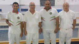 Edelmiro Figuera y Javier Bolobanich (Club Rivadavia de Villa María) y Nicolás Bustos (Club Agrario) representaron a Villa María en el torneo Regional de Tercera en Hernando.