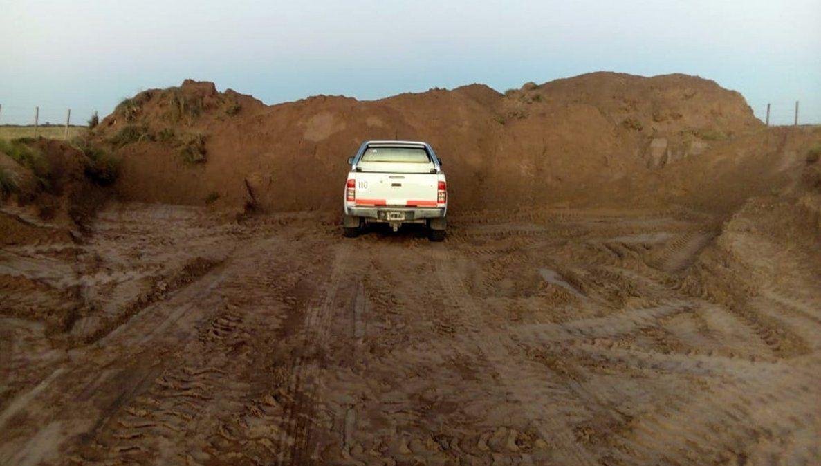 Ahora San Luis cerró los caminos rurales y productores del sur piden ayuda