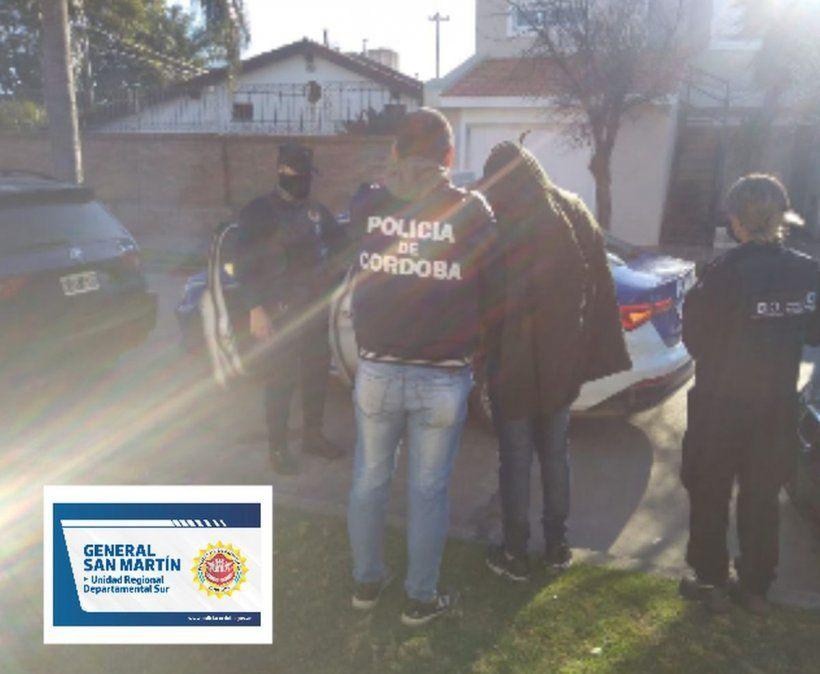 El arresto se materializó en un domicilio de calle Artigas