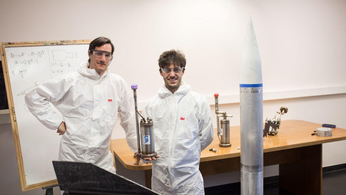 Federico Brito y Dan Etenberg son los socios fundadores de LIA Aerospace.