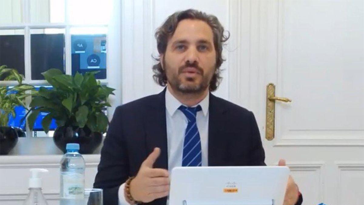 Cafiero afirmó que el sistema de salud en la Argentina no colapsó.