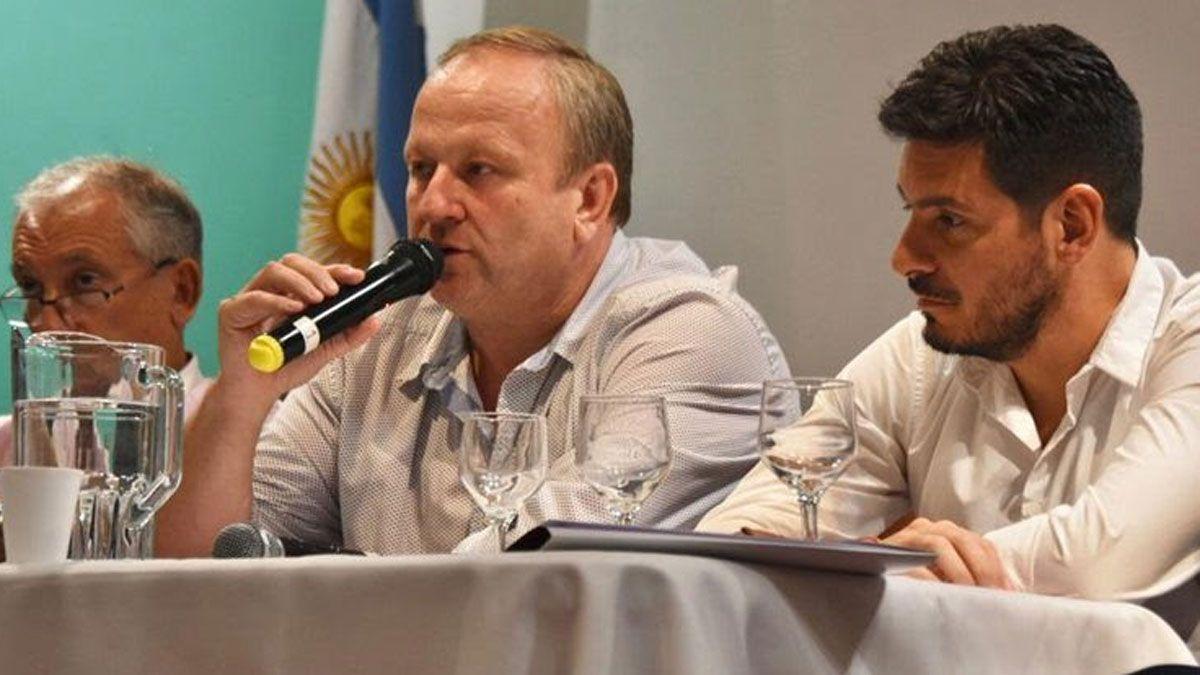 Las autoridades del Foro de Intendentes Radicales firmaron la nota.