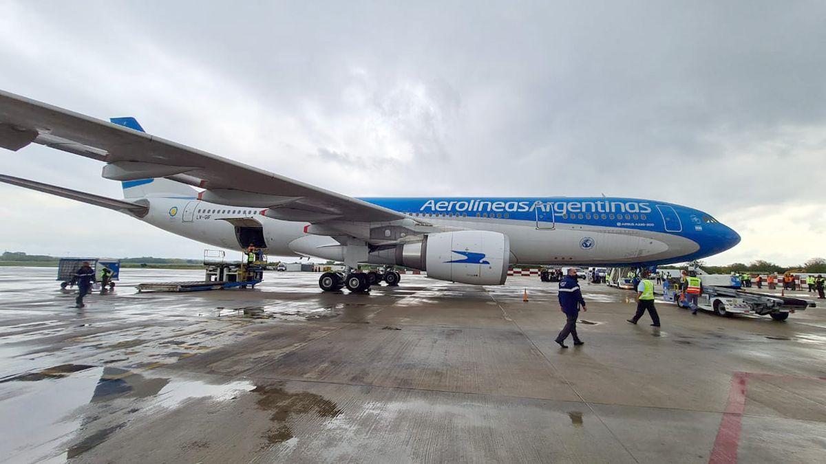 Nueve son los vuelos que ya realizó Aerolíneas a Moscú en busca de la vacuna rusa.
