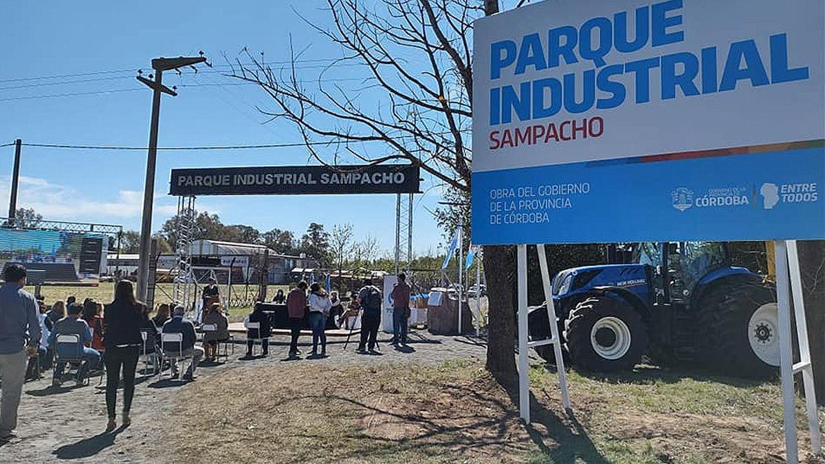 El Parque Industrial de Sampacho es el 35° de la Provincia de Córdoba.