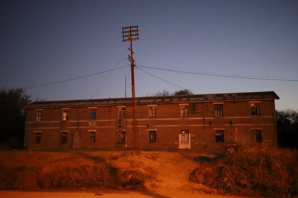 Gabín Ferroviario ubicado en barrio Las Playas.