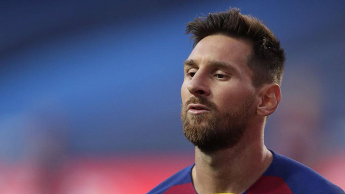 Lionel Messi no pudo dejar el Barcelona