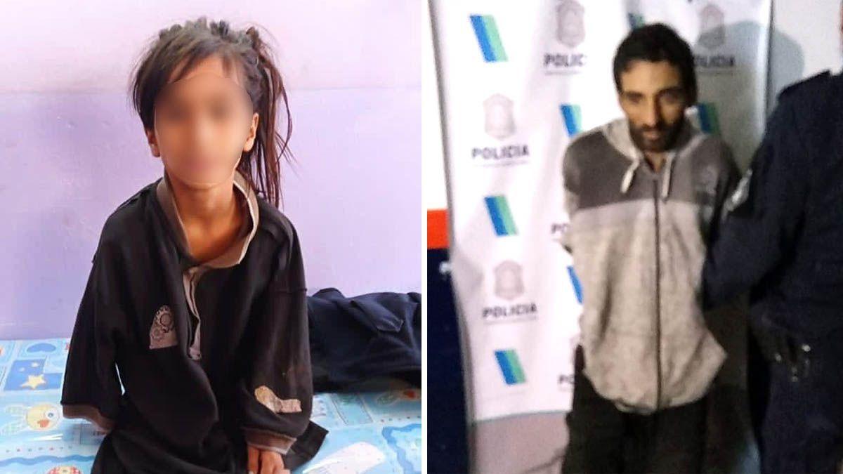 Se negó a declarar el detenido que se llevó a la niña de 7 años