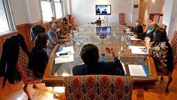 El ministro de Desarrollo Social de la Nación, Daniel Arroyo, encabezó hoy -junto a los integrantes de su gabinete- un nuevo encuentro virtual  del Consejo Federal de Desarrollo Social, que está integrado por las y los funcionarios del área de todo el país.