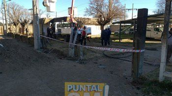 Los vecinos de la zona oeste cercana a ruta 30 manifestaron su preocupación tras el accidente que dejó cuatro víctimas fatales el último domingoFoto: Puntal AM!