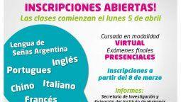 El trayecto de formación tiene por objetivo ofrecer a docentes y estudiantes universitarios el conocimiento en ciertas lenguas que exige la investigación.