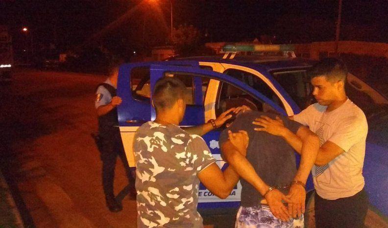 Detenido por robo calificado con arma de fuego
