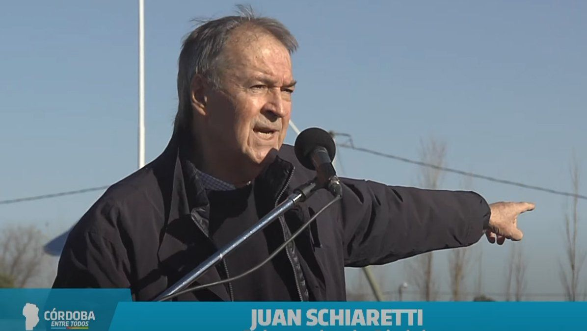 El gobernador provincial Juan Schiaretti afirmó: Es nuestra característica