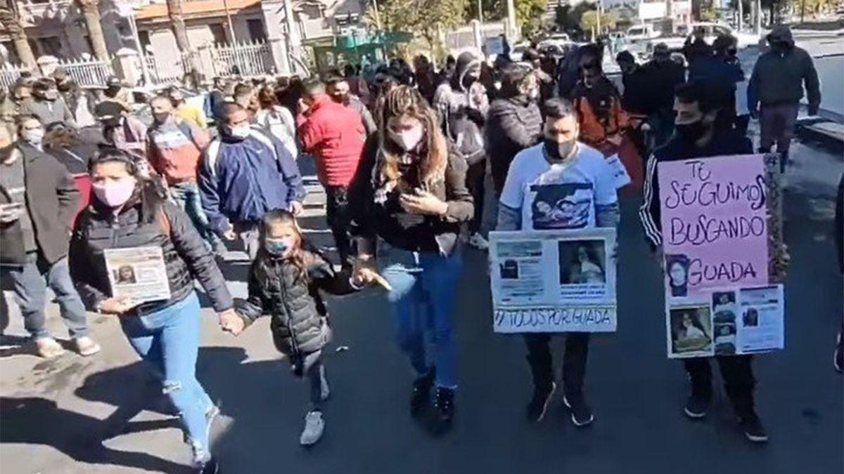 Ninguna de las acciones dieron resultados positivos en la búsqueda y se prepara hoy una nueva marcha para pedir que se continúe buscando a la niña.