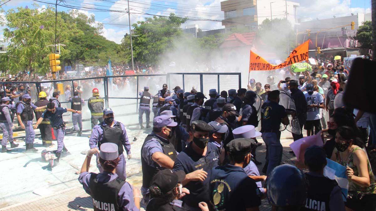 La Secretaría de DDHH repudió el accionar policial.