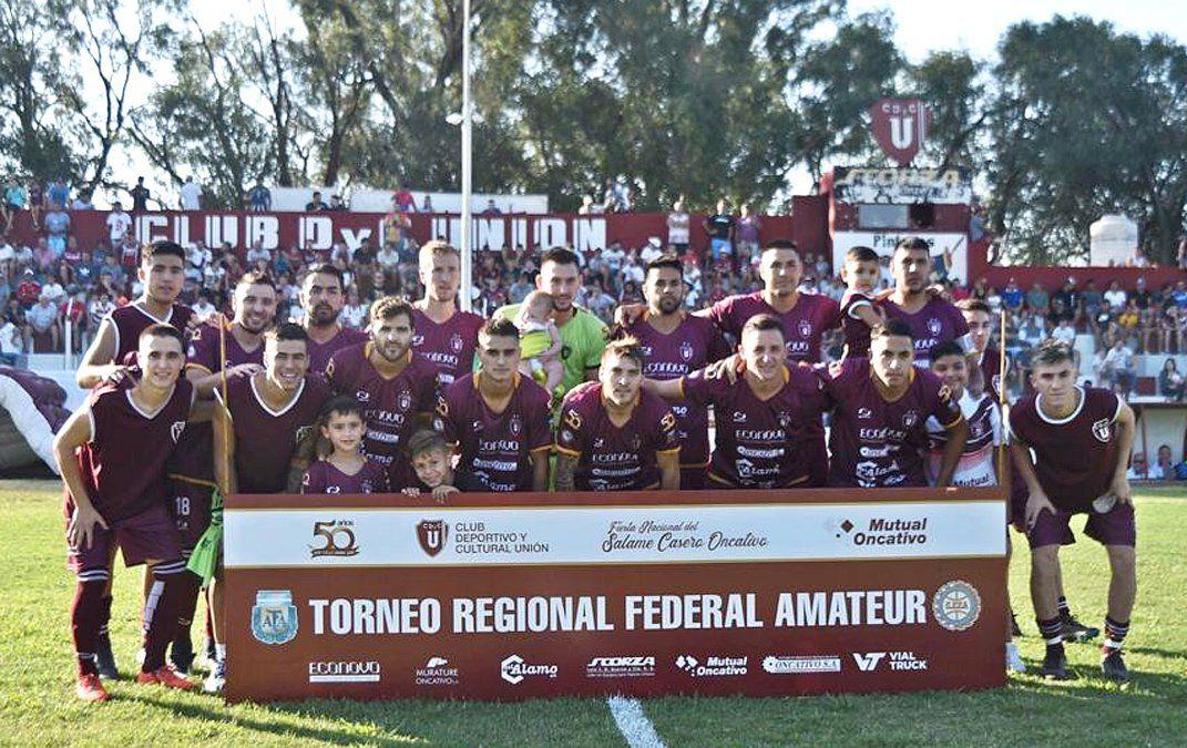 Oncativo luce revolucionado por la campaña de Unión en el Torneo Regional Federal Amateur. El equipo de Walter Obregón confirmó su continuidad.