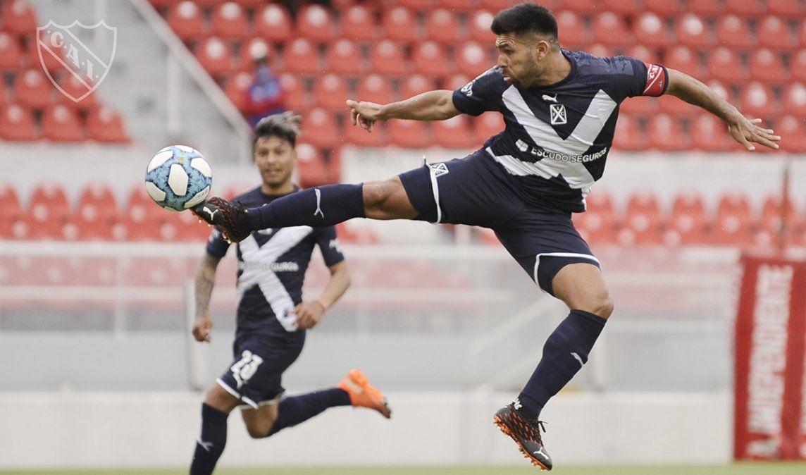 Independiente rescató un empate ante Colón