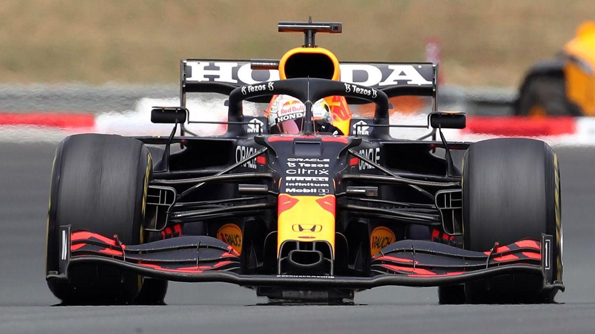 Verstappen volvió a ser el más rápido