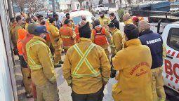 El año pasado, en plena cuarentena y en el pico de contagios, bomberos voluntarios de toda la provincia lucharon contra los incendios ocurridos en las sierras.