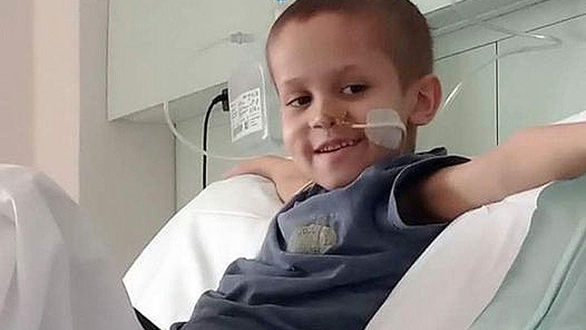 En los últimos 8 días la salud de Fede habia desmejorado y requería de oxígeno.