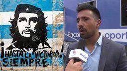 El actual director de Emos por la oposición, Lucas Castro, parece que además de compartir apellido con Fidel, es un seguidor del Che y del movimiento revolucionario de Cuba.