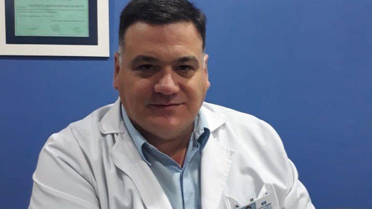 El director del Instituto Médico Río Cuarto