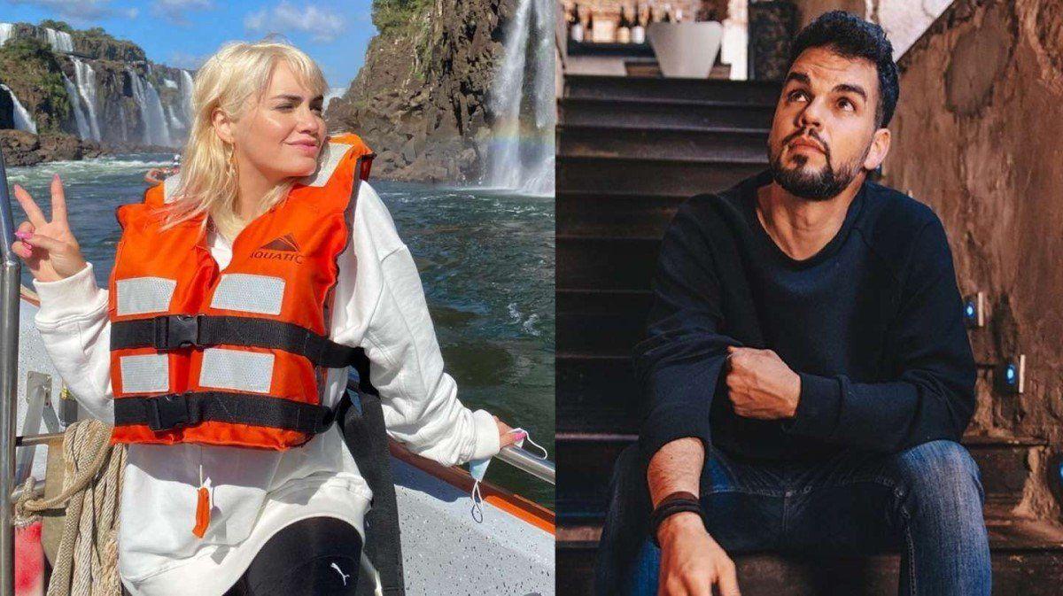 La escapada romántica de Lali Espósito con David Victori a las Cataratas del Iguazú