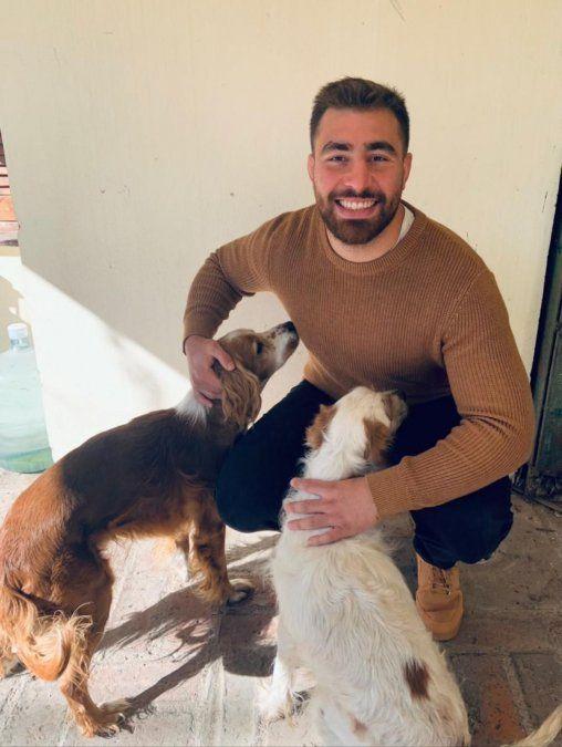 Lolo Bello descansa en Villa María antes de regresar a la competencia europea