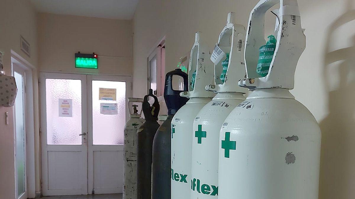 Jovita recibió esta semana tubos de oxígeno y sus recargas para poder asistir a pacientes en la localidad.