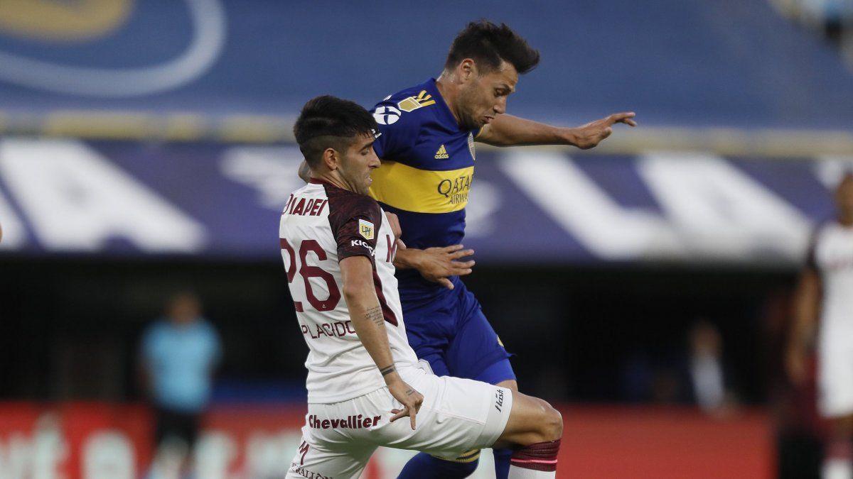 Boca perdió con Lanús en la Bombonera