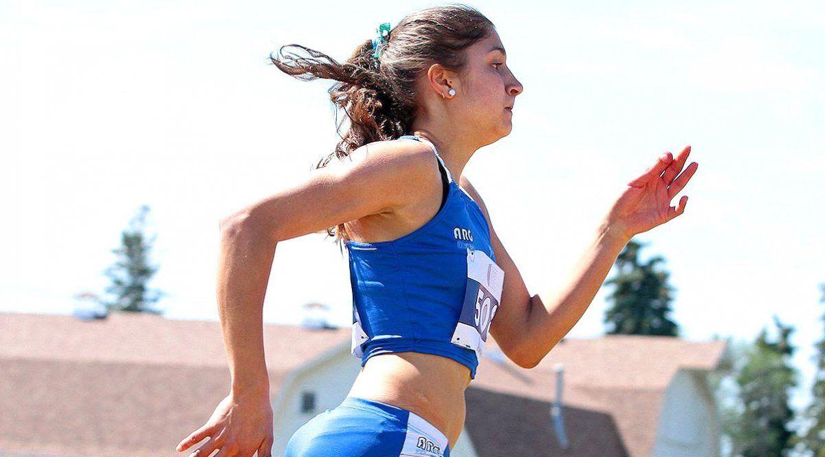 """Noelia Martínez confesó que """"esperaba más en los 400 metros. Fue bueno participar en 4 pruebas""""."""