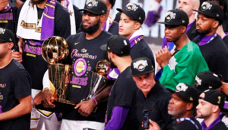 Los Angeles Lakers gritó campeón en la NBA e igualó a  Boston Celtics