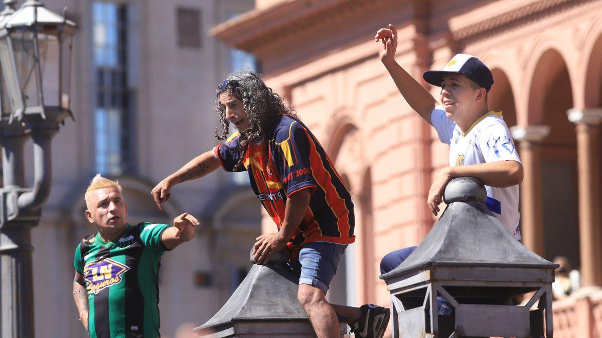 En la Casa Rosada hubo incidentes en medio del velatorio.