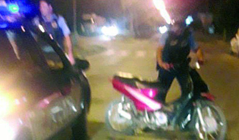 Un menor fue detenido tras  una persecución por dos barrios