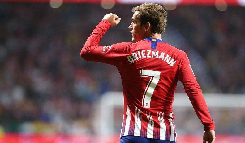Griezmann le dio la victoria al Atlético