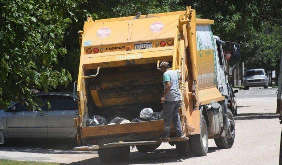 El domingo y lunes no habrá recolección de residuos