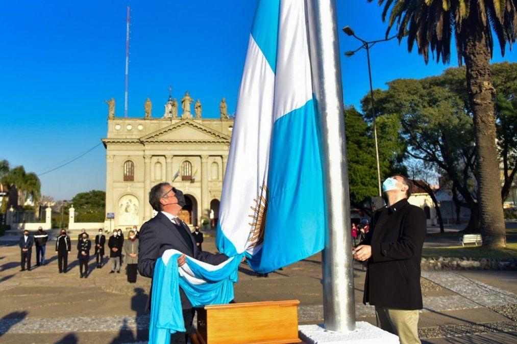 Realizaron el acto por el 205º aniversario de la Declaración de la Independencia