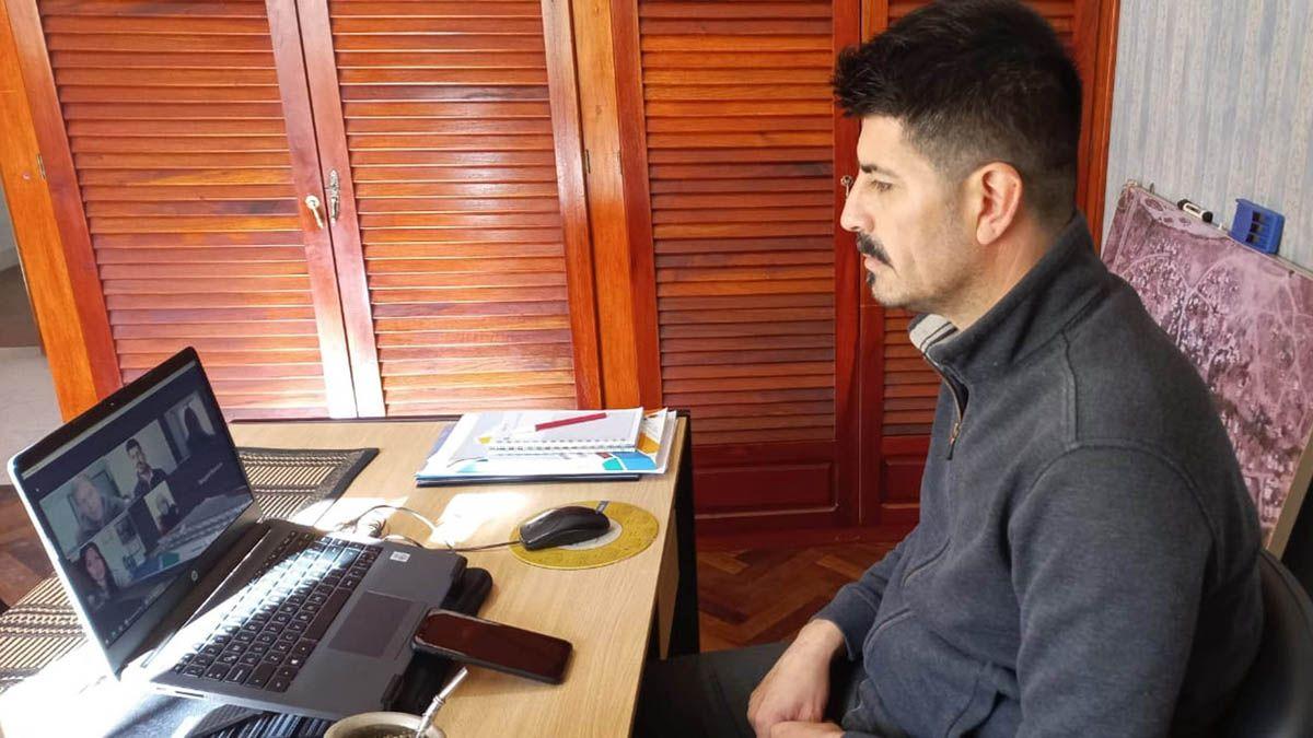 El legislador Franco Miranda mantuvo una reunión virtual con las autoridades del Instituto Juan Cinotto de Sampacho