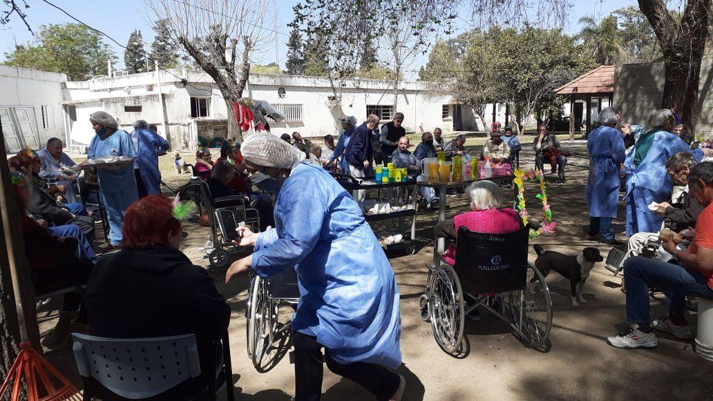 El desafío diario del hogar de ancianos municipal ante la pandemia