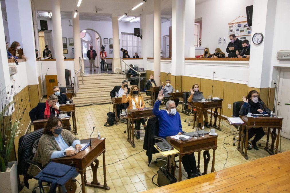(Foto de archivo) El Concejo Deliberante también aprobó por unanimidad dos proyectos de interés municipal.