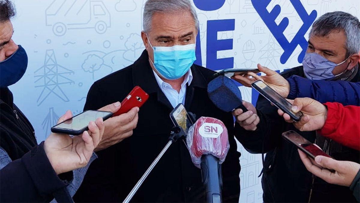 El secretario de Salud Marcelo Ferrario. (Foto: Matías Tambone)