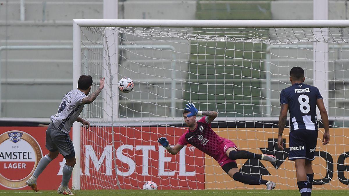 Talleres perdió en su debut en la Sudamericana