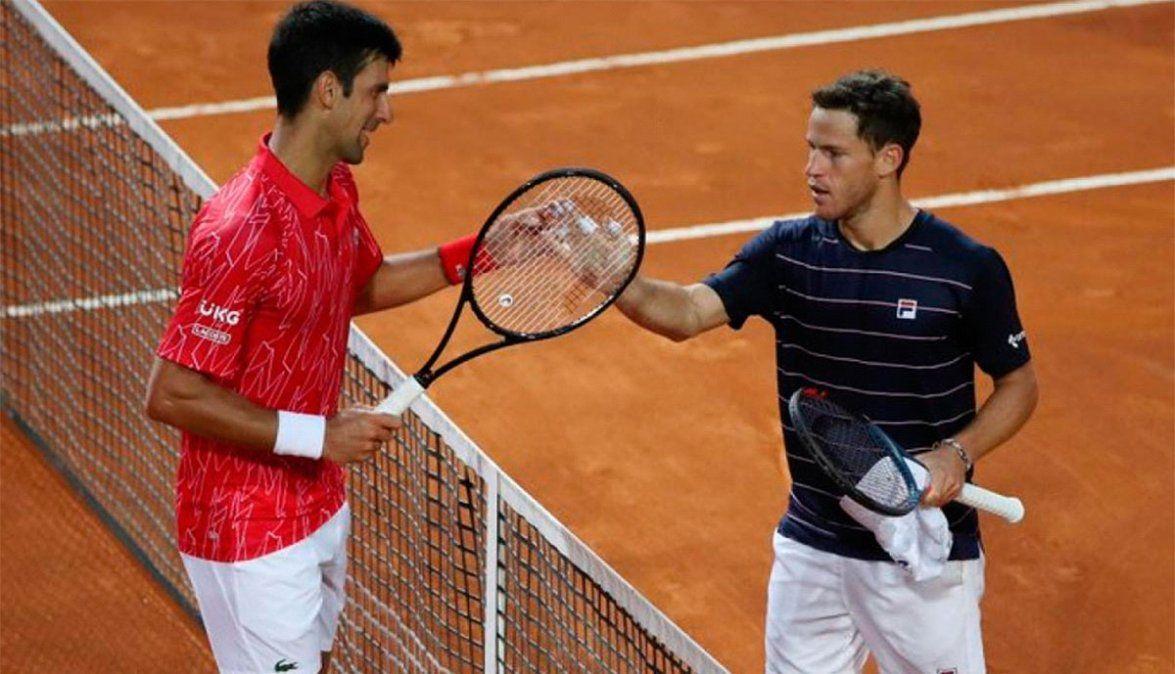 Schwartzman no pudo con Djokovic en su primera final, pero cerró una semana  muy positiva