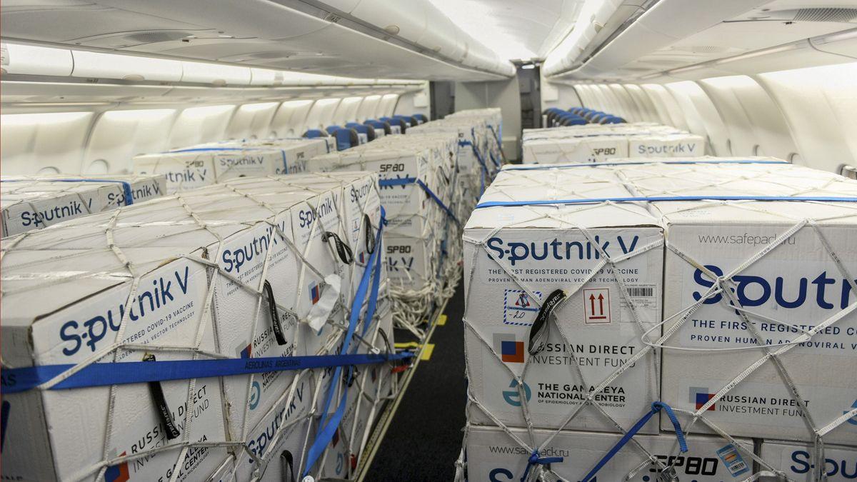 Argentina recibirá la primera partida de Sputnik V producida en el país.