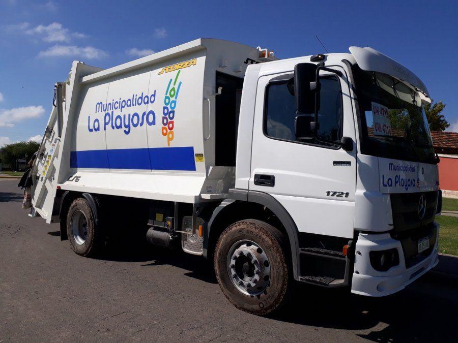 La Playosa: en la planta de reciclado recuperan más de 50 toneladas de residuos secos