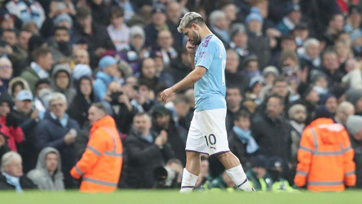 El Kun Agüero anunció que deja el Manchester City