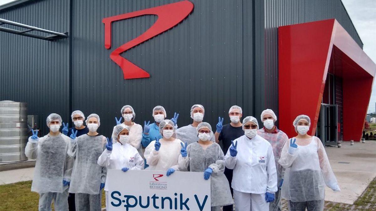 La planta de Richmond ubicada en la localidad bonaerense de Pilar realiza la formulación